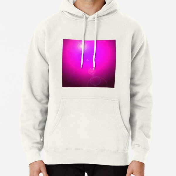 Pink/mauve spotlight background Pullover Hoodie