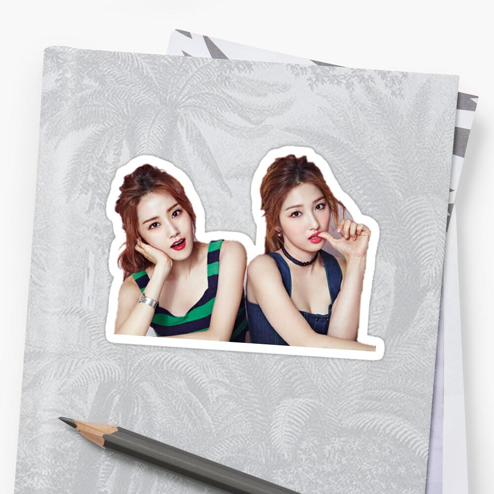 jihyun & gayoon by z a