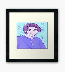 Dylan Klebold Portrait  Framed Print