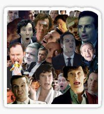 Sherlock Collage Sticker