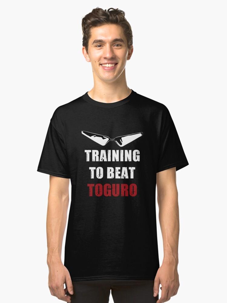 Alternate Training To Beat Toguro Classic T-Shirt Front