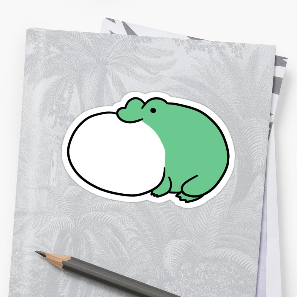 Frog Vocal Sac by SaradaBoru