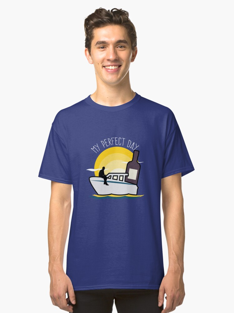 Funny Boat Captain Owner  Classic T-Shirt Front