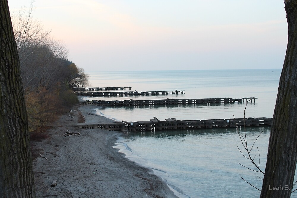 Cleveland Shore Line- Edgewater Park by Leah S.