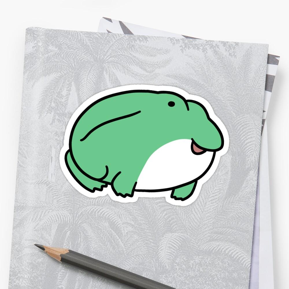 Cute Fat Frog by SaradaBoru