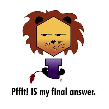 Yew Lion - Pfft is my final answer by Keith-mccrea