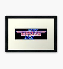 Gradius 3 (SNES) Framed Print