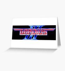 Gradius 3 (SNES) Greeting Card