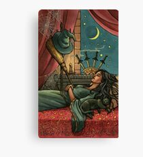 Everyday Witch Tarot - Four of Swords Canvas Print
