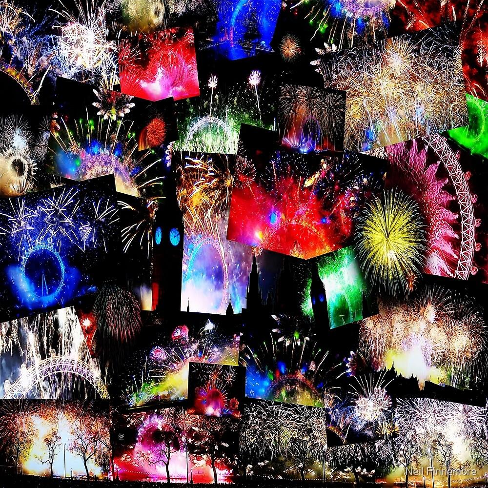 London New Years Eve Fireworks by FieryFinn77