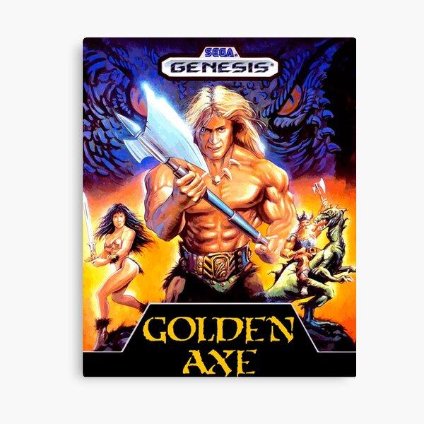 Golden Axe (Genesis) Canvas Print