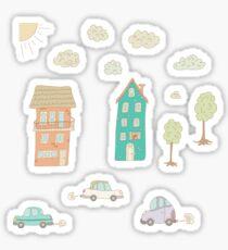 Childs street Sticker