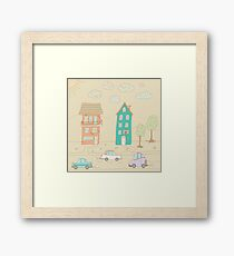 Childs street Framed Print