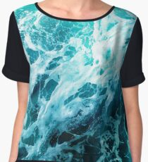 Out there in the Ocean Women's Chiffon Top