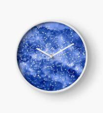 Nördliche Sternkarte Uhr