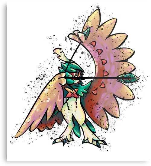 Decidueye Colorstudy by Cosmic-Creates