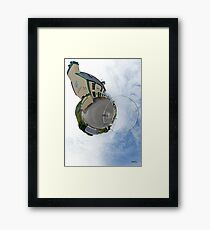 Biddy's House - the Crossroads Pub, Glencolmcille(Sky Out) Framed Print