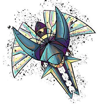 Vikavolt Colorstudy by Cosmic-Creates