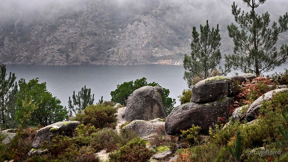 Mountain lake 3 gerez portugal national park by jo-twinflame
