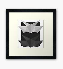 Lemaitre structure B&W Framed Print
