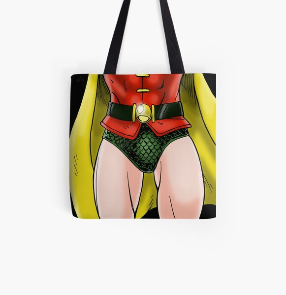 Robin Groin All Over Print Tote Bag