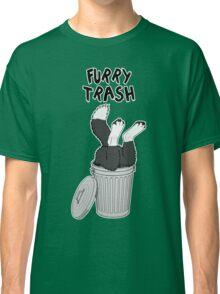 Furry Trash - Border Collie Classic T-Shirt