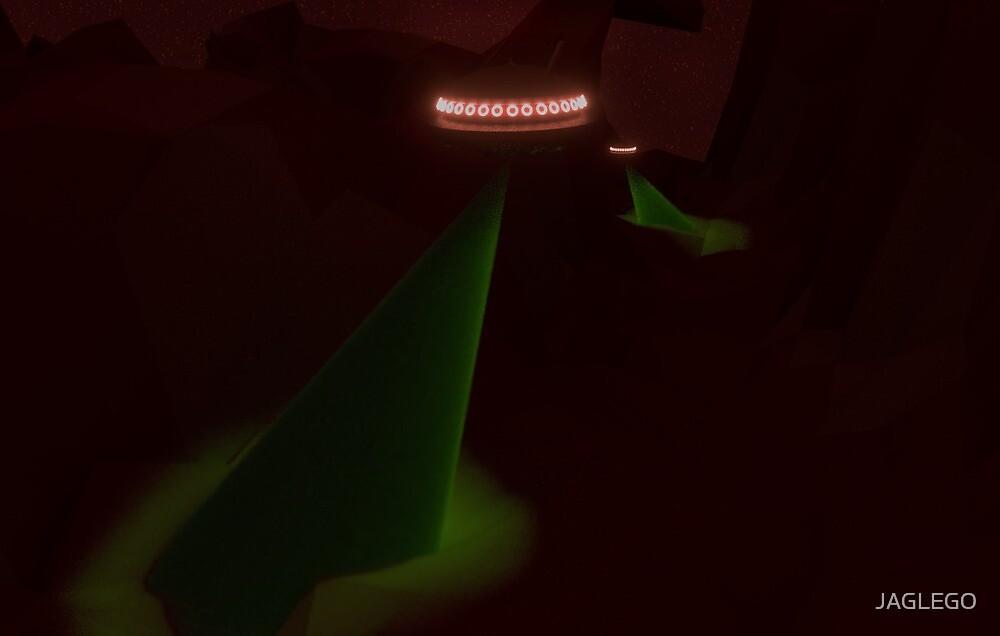ROCKY UFO  by JAGLEGO