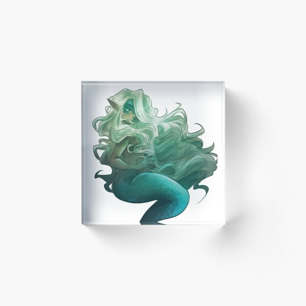 Mermaid Lavellan Transparent Acrylic Block