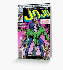 Jojo XMen/Crisis homage Greeting Card