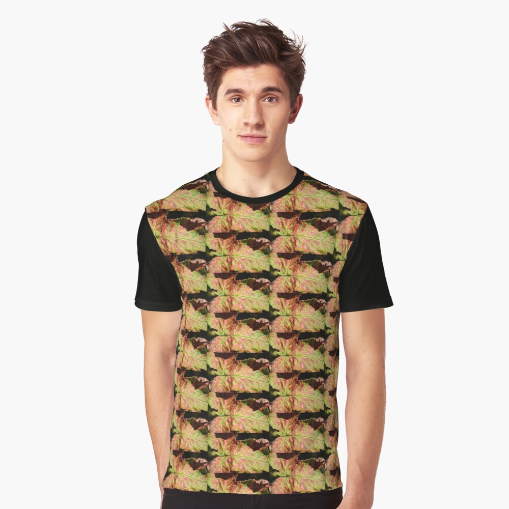 LEAF Graphic T-Shirt Front