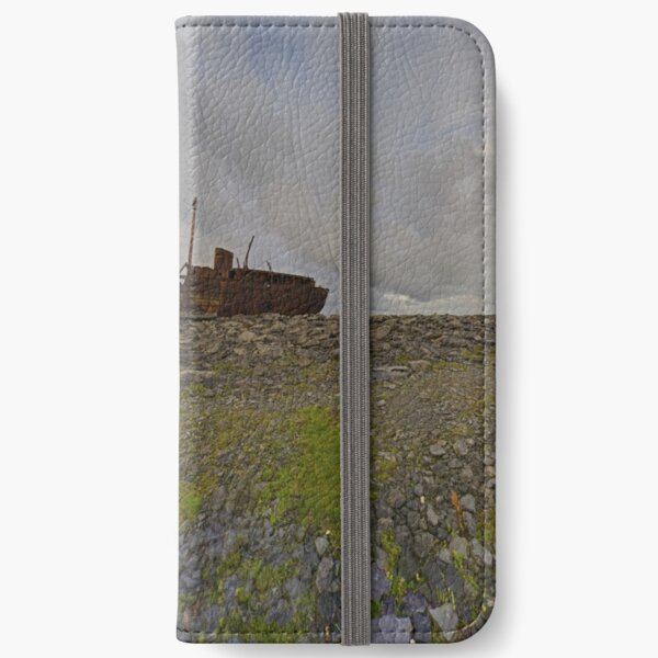 The Plassey - a wrectangular view iPhone Wallet