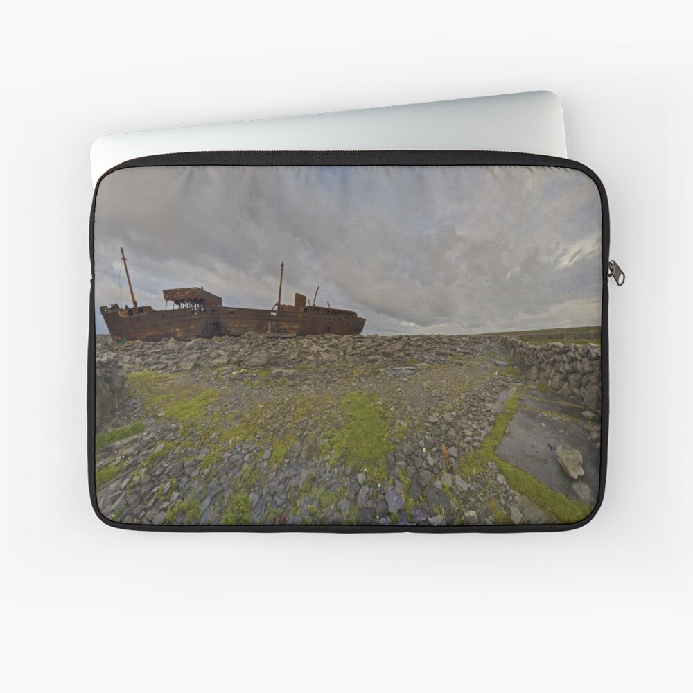 The Plassey - a wrectangular view Laptop Sleeve