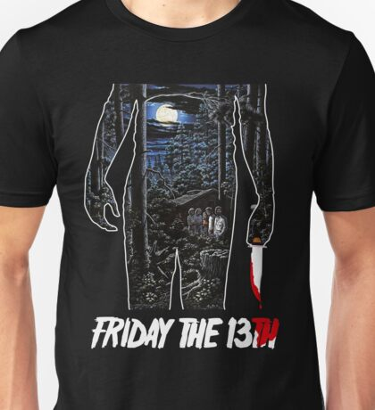 Friday the 13th Movie Poster Unisex T-Shirt