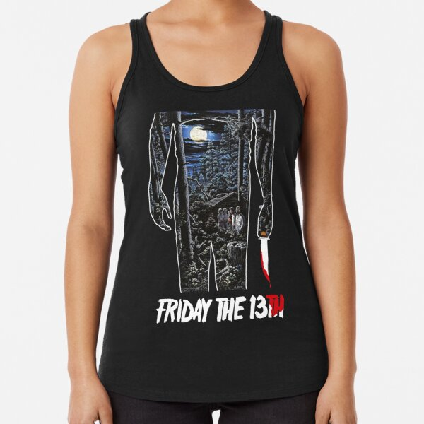 Friday the 13th Movie Poster Racerback Tank Top
