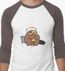 Sloth Love Cats Men's Baseball ¾ T-Shirt