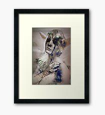 Advent Calendar Cosplay - 21|12 Trico Framed Print