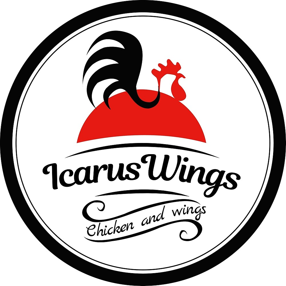 Alternative Icarus Wings Logo 3 by 636CateringandFT 636CateringandFoodTruck