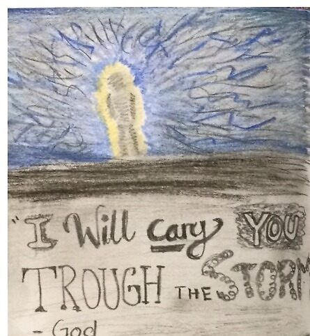 I Will Carry You Through The Storm  by Kristianette