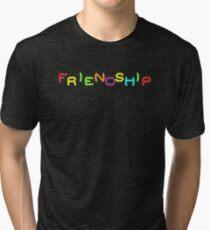 Friendship - Mortal Kombat 2 Tri-blend T-Shirt