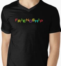 Friendship - Mortal Kombat 2 Mens V-Neck T-Shirt