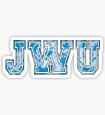 JWU Tie-Dye  Sticker