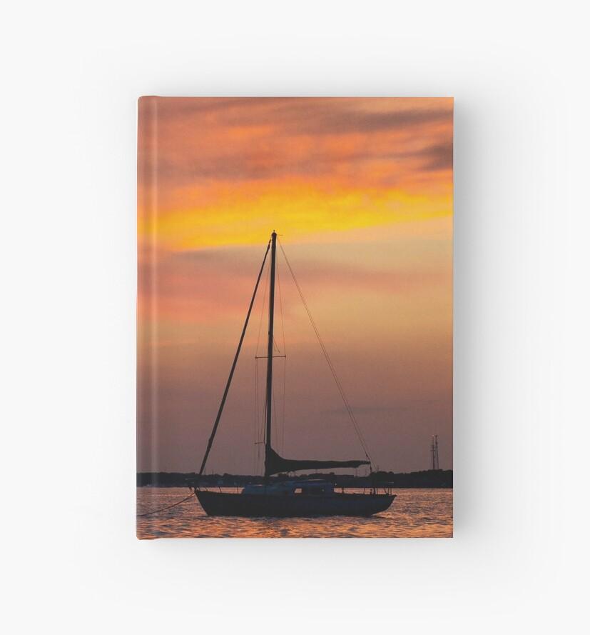 Serene sunset by Frank Parisi