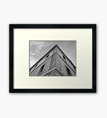 Right Angle Architecture Framed Print