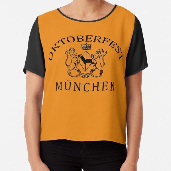 OKTOBERFEST MUNICH MUNCHEN Chiffon Top