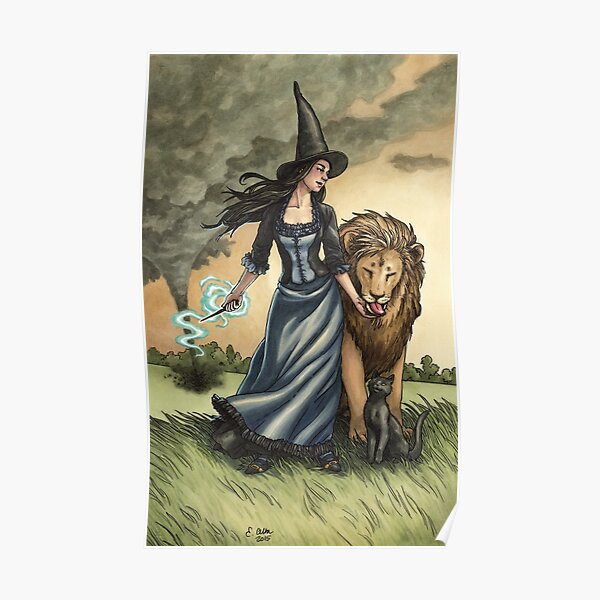 Everyday Witch Tarot - Strength Poster