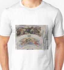 St Thomas the Apostle church, Prague, Czech Republic, frescoes Unisex T-Shirt