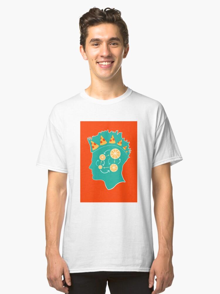Pizza Punk Classic T-Shirt Front