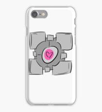 Companion Cube - Portal iPhone Case/Skin