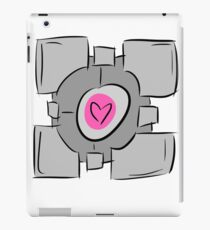 Companion Cube - Portal iPad Case/Skin
