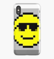 Minesweeper Retro Smiley Face iPhone Case/Skin